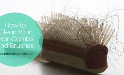How to clean your hair combs and brushes