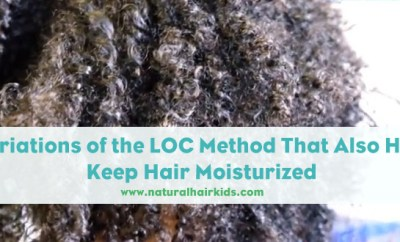 Keep natural hair moisturized