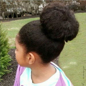 hairstyles for teens top bun 2
