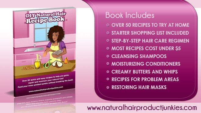 Natural Hair Recipe Book