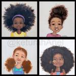 keturah Ariel natural hair kids holiday gift guide
