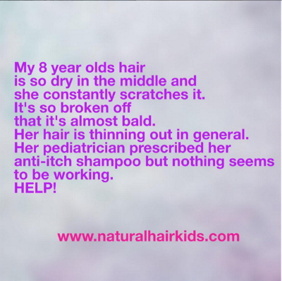 remedies for childs dry hair