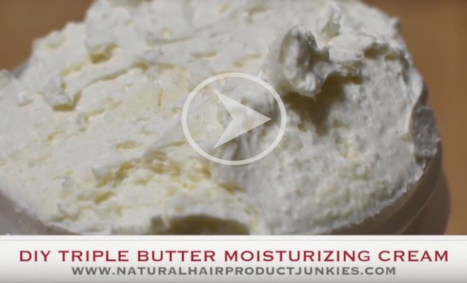 How to make your own hair butter