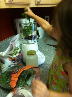 Making Green Smoothies