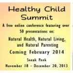 Healthy Child Summit Giveaway! (CLOSED)