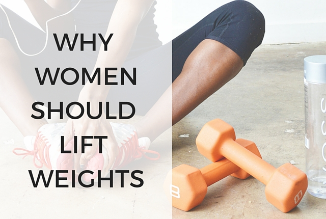 Why Women Should Lift Weights, Woman with dumbbells