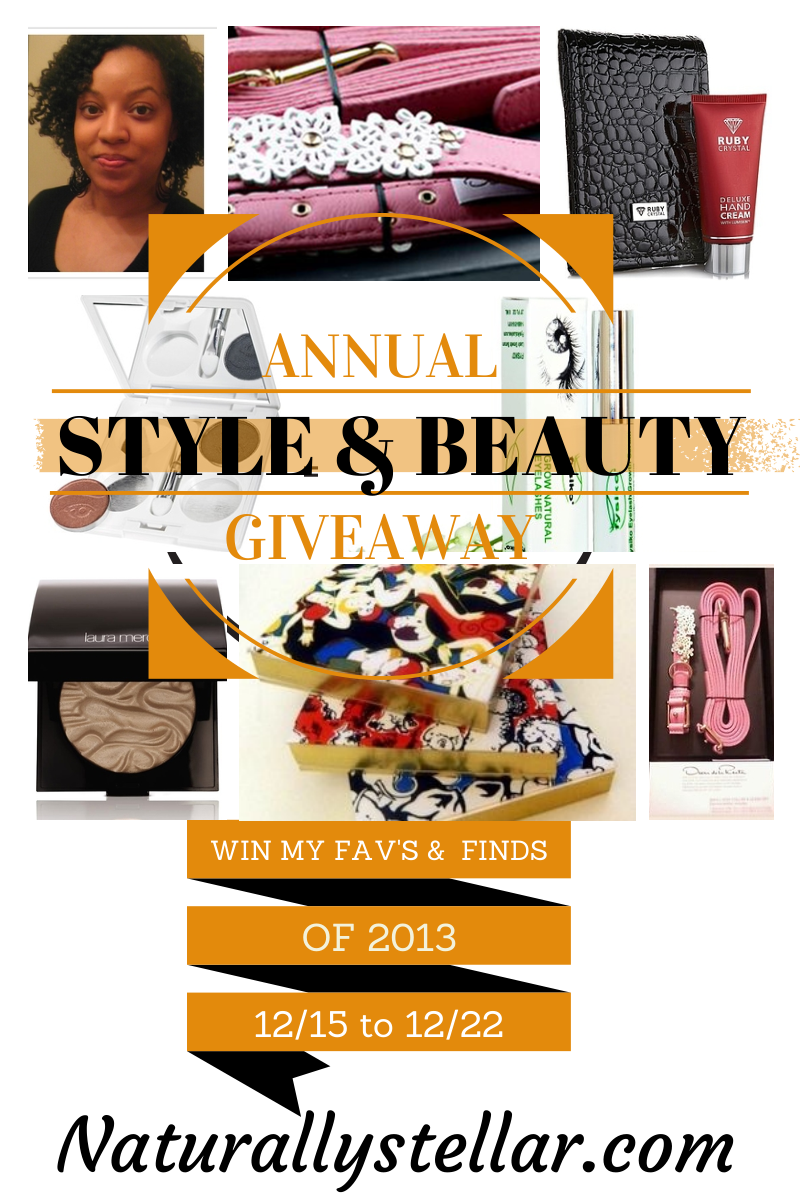 naturallystellar, beauty, style, giveaway, 2013