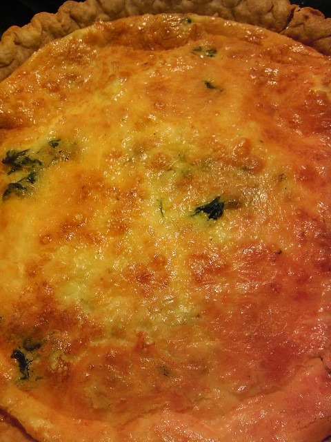And It's Done - Quiche Recipe