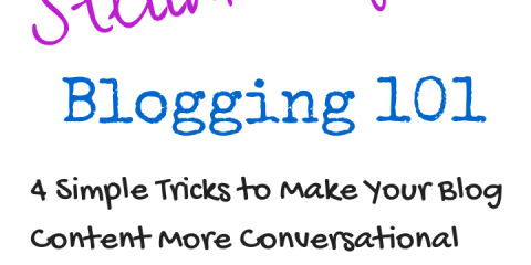 Stellar Tips, Blogging, Business, Naturally Stellar, Blogging 101