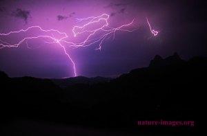 Lightning Coronado Pacific Coast Panama