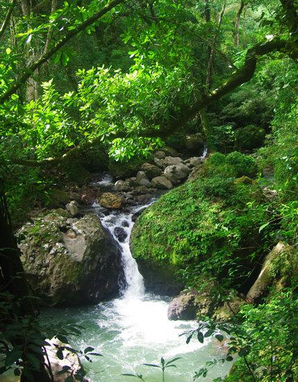 Rio Maria Waterfall