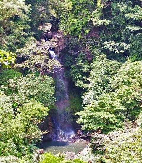 Tavida Waterfall, near Cerro La Vieja,  Panama