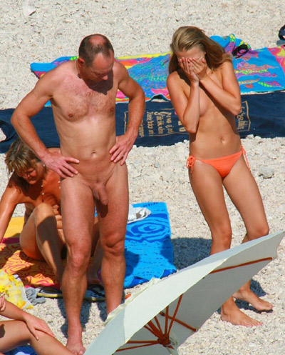 nude family touching dick