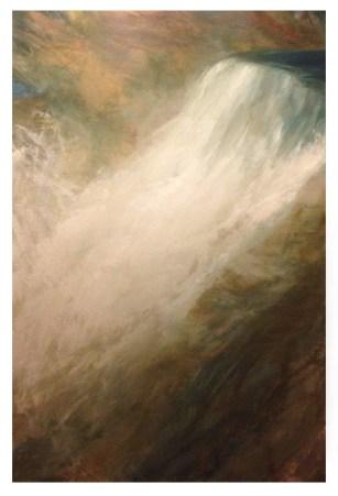 Falls. Oil , 80x120cm