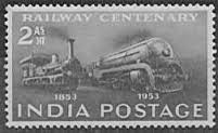 postage stamp India 1853