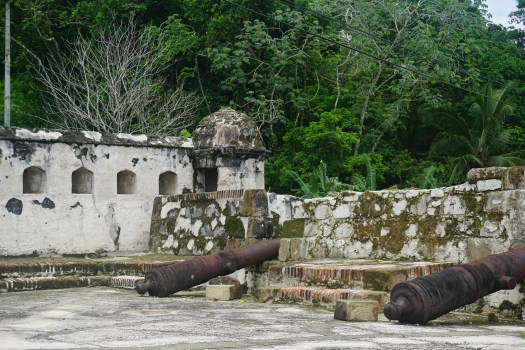 Ruins of the Fortifcation at Portobelo
