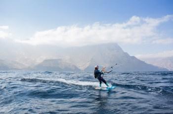 Gisela Pulido y las ocho islas Canarias en kitesurf