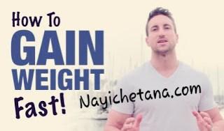 Increase Weight in Hindi