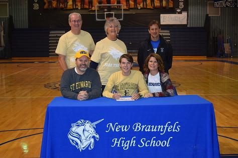 Stone Hamlin - St. Edwards University - Cross Country