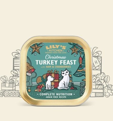 lily turkey feast for cats