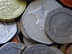 British pennies & pounds