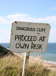 sign: proceed at own risk