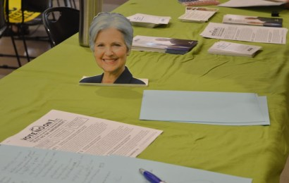 Jill Stein visits Sarasota
