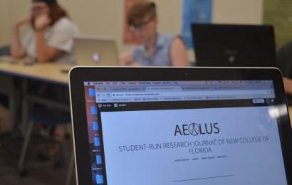 Aeolus: New College's premier undergraduate  research journal