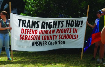 Following the fight for transgender rights nationally and in Sarasota