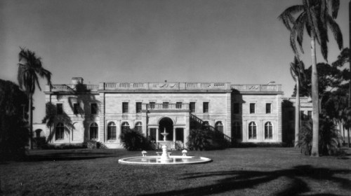 The front of College Hall, 1965.