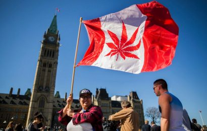Canada proposes the  federal legalization of  marijuana