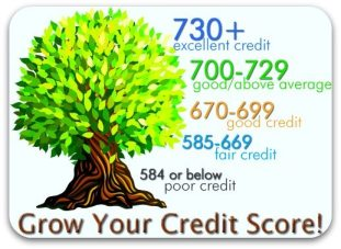 minimum credit scores
