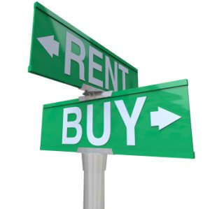 rent versus buying