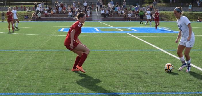 Girls' soccer falls to Darien 3-0