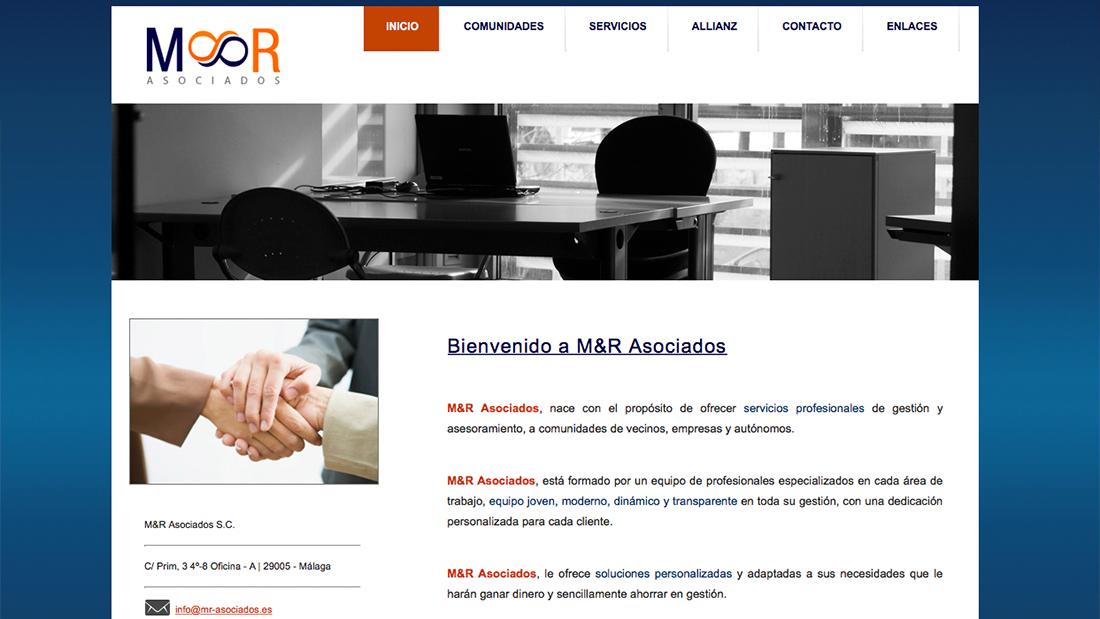 M&R Asociados Web