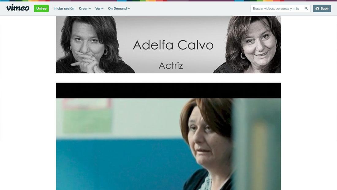 Canal Vimeo de Adelfa Calvo