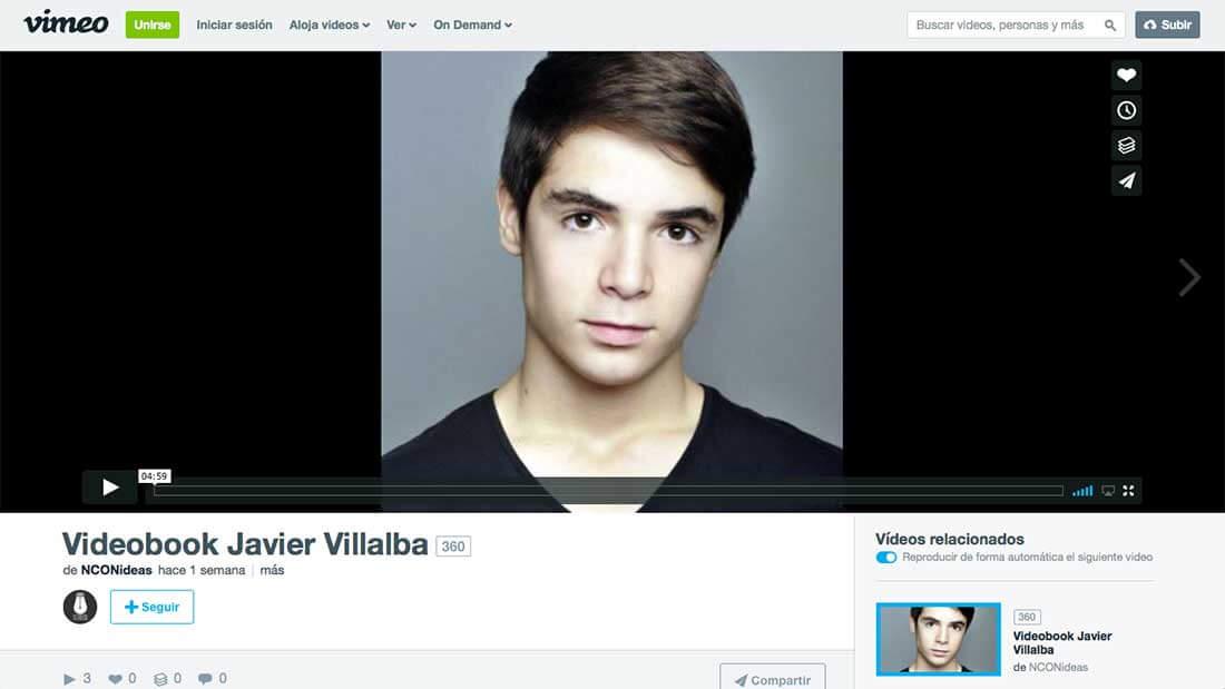 Videobook Javier Villalba