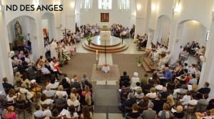 Jubilé du P. Christian Vivien et messe de rentrée du secteur @ Notre Dame des Anges