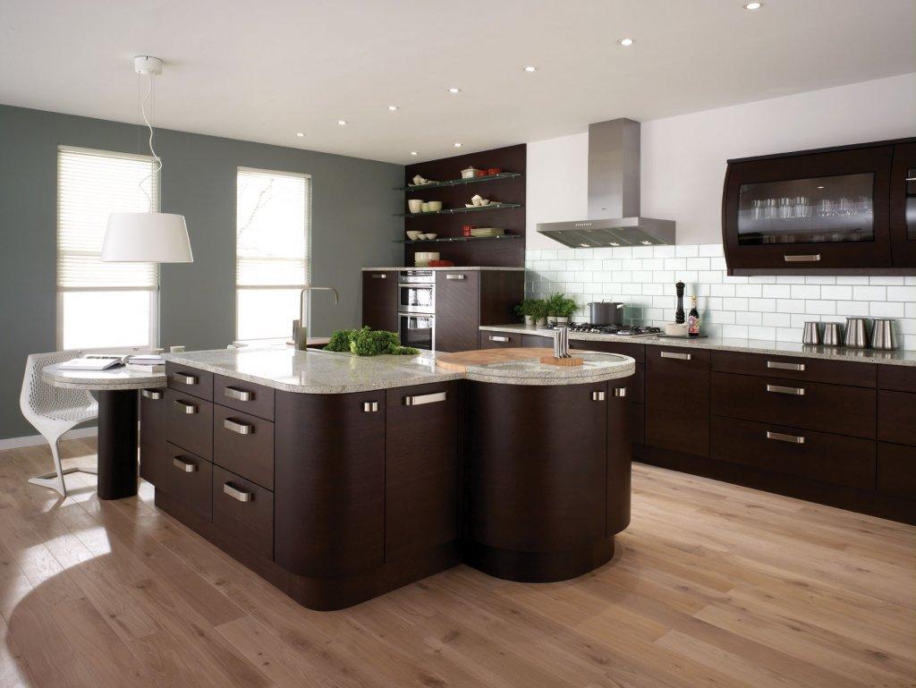 kitchen tile trends wood floor kitchen Image
