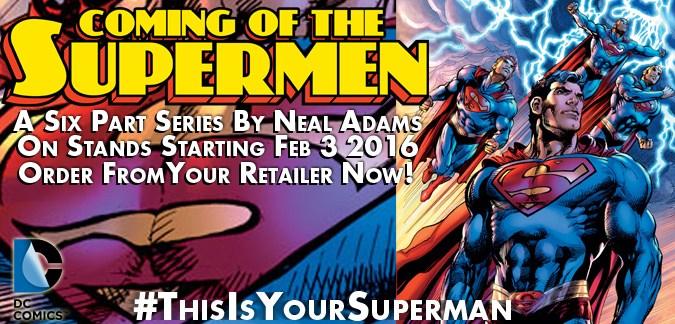 Neal Adams Coming of the Supermen - DC Comics