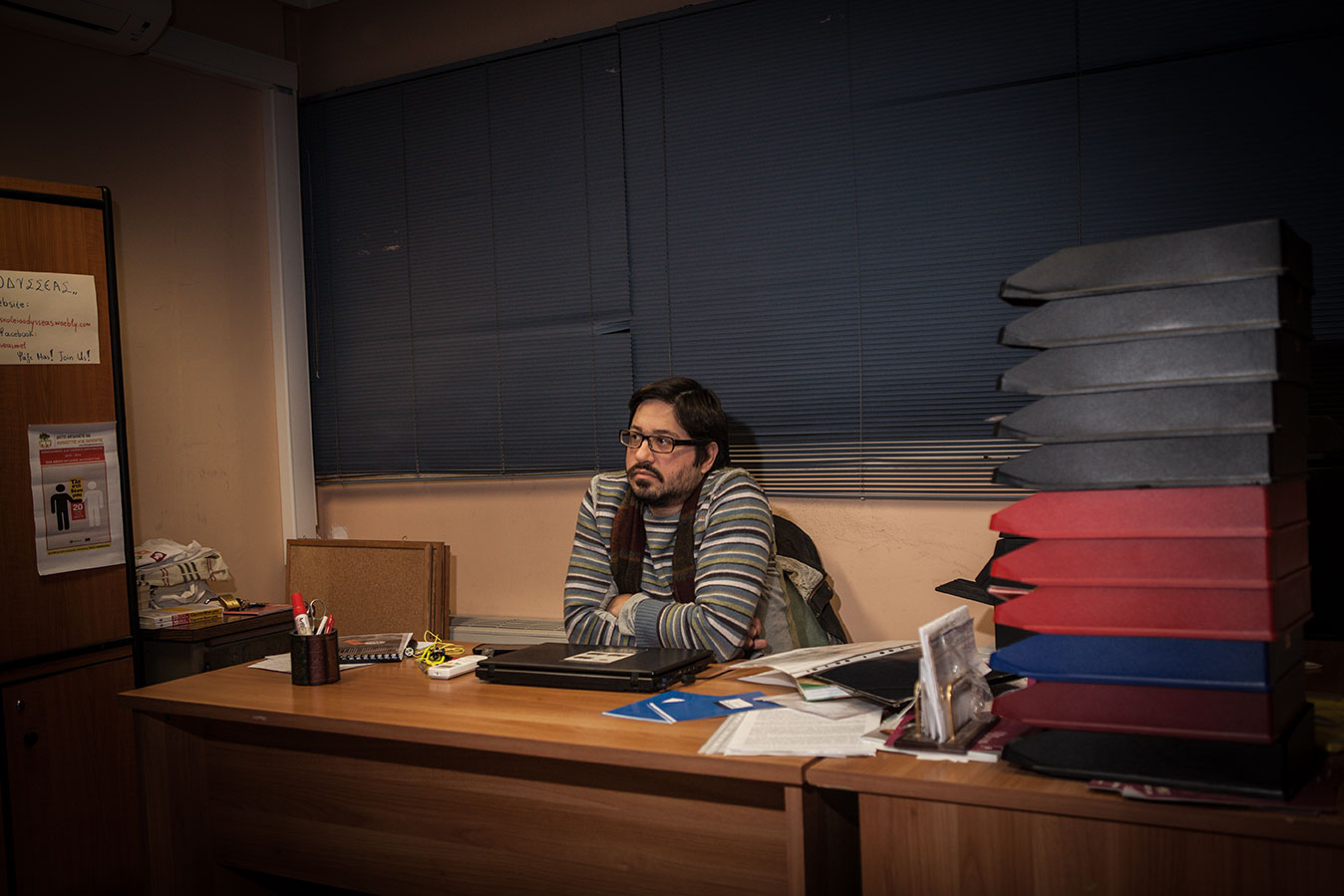 """Secondary school Greek teacher and pro bono President of the Odysseas Community School, Antoni Gazakis, recently came close to losing his position. Following an audit, the struggling NGO, Odysseas, was accused of """"not respecting accounting norms."""" The NGO still owes the State 78,000 € ($85,000) in fines, which jeopardizes its survival. In light of the Greek authorities' notoriously lackluster attempts at curtailing tax evasion, the mere fact that a project such as Odysseas would be targeted is as ridiculous as it is shameful. Though Syriza supported the NGO while the party was in opposition, its representatives have taken no measure on Odysseas' behalf since they have been running the government."""