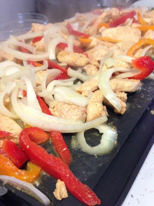 Fajitas Grilling