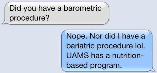 Barometric Procedure