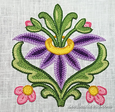Tambour Embroidery Project  Needle Work