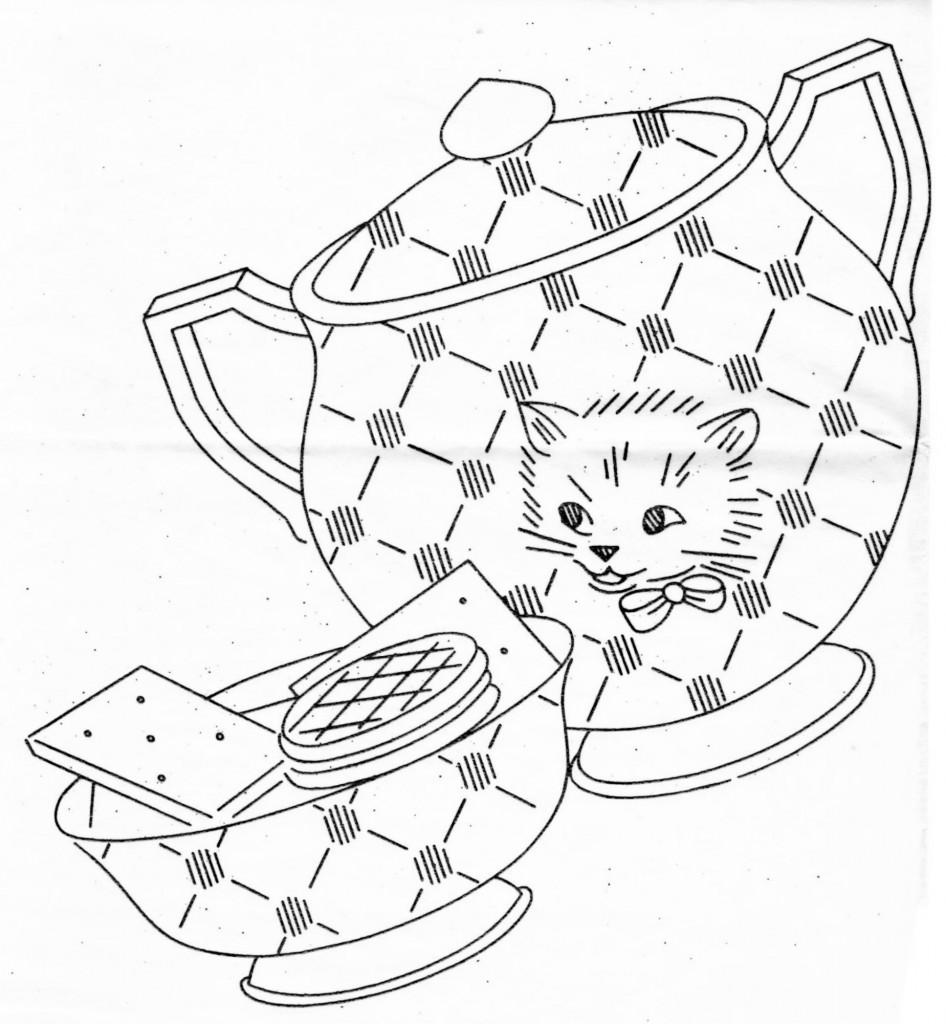 Free Pattern: Kittyware