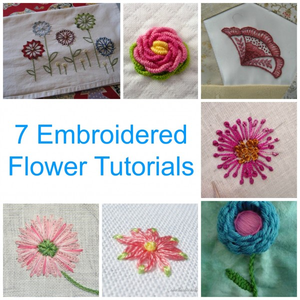 Embroidery tutorial makaroka
