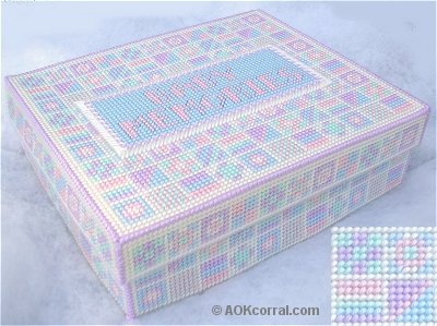Free Pattern – Baby Keepsake Box