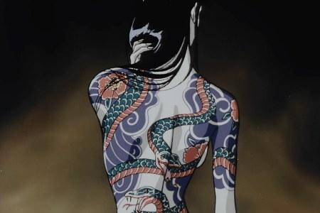 ninja scroll the movie tattooed woman