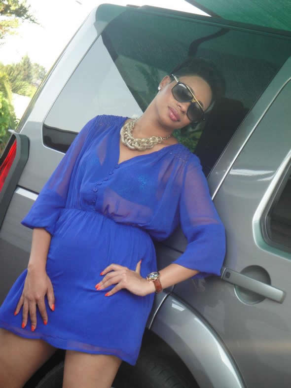 Stunning Pokello Nare, who joined 'Tazoita Sex Records' run by Stunner