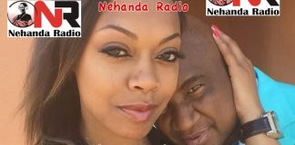 Mr Loverman: Philip Chiyangwa with one of his many girlfriends